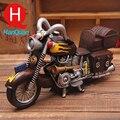 Смолы Игрушки Vintage Прохладный Масштаб Модели Мотоциклов Смола Мотоцикл Игрушки для Коллекции Подарков для Детей Craft Античная Имитация Игрушка