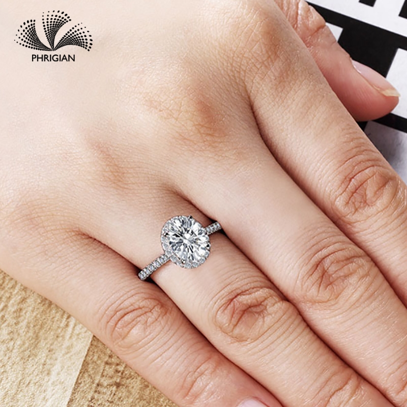 Sona NOT FAKE Fine Engraving Ring S925 Sterling silver Diamond Custom ring Original Design 925 oval cut 4 clawsSona NOT FAKE Fine Engraving Ring S925 Sterling silver Diamond Custom ring Original Design 925 oval cut 4 claws