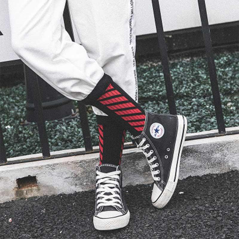 Winter Fashion Street Hiphop Harajuku Socks Letter White Socks Men Women Japanese Korean Hipster Short Socks Male Female Cotton