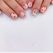 New arrived Fashion 3D Water Decals Nail Art Stickers cute animal Flower Nails Sticker Decorations Manicure Z064