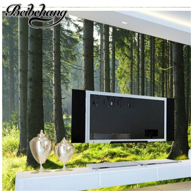 Beautiful Forest Wallpaper For Bedroom Gallery - Trends Home 2017 ...