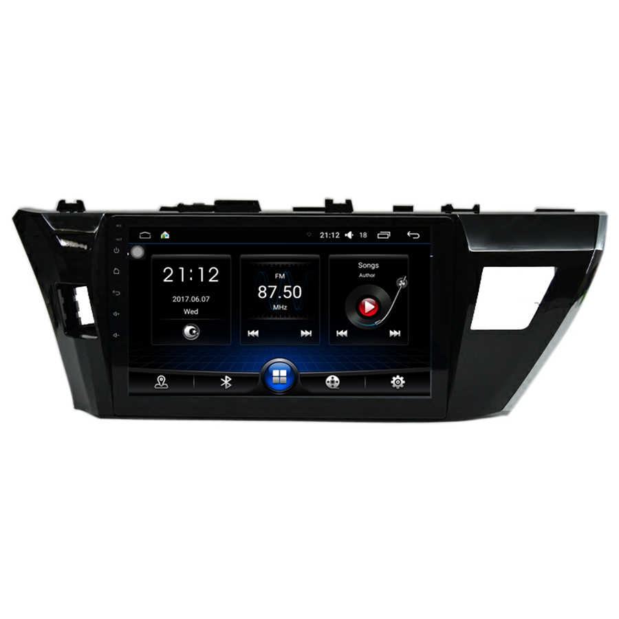 10.1''Car Radio GPS Android Video GPS Navigation Multimedia Player 2GB RAM Bluetooth System For Toyota Corolla 2014 2015 2016