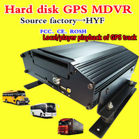 AHD hard disk VCR local player playback GPS track road cleaning car video monitoring host PAL/NTSC system