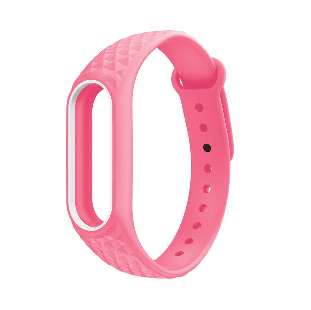 Montre Bracelet Bracelet de montre mâle en caoutchouc Bracelet Bracelet Bracelet de remplacement pour XIAOMI MI ceinture 2 Miband otan Bracelet pour montres
