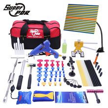 Super PDR Tools Car Dent Repair Tool kit Slide Hammer Glue Gun Dent Puller Hand Tool Sets 68pcs auto body repair tools