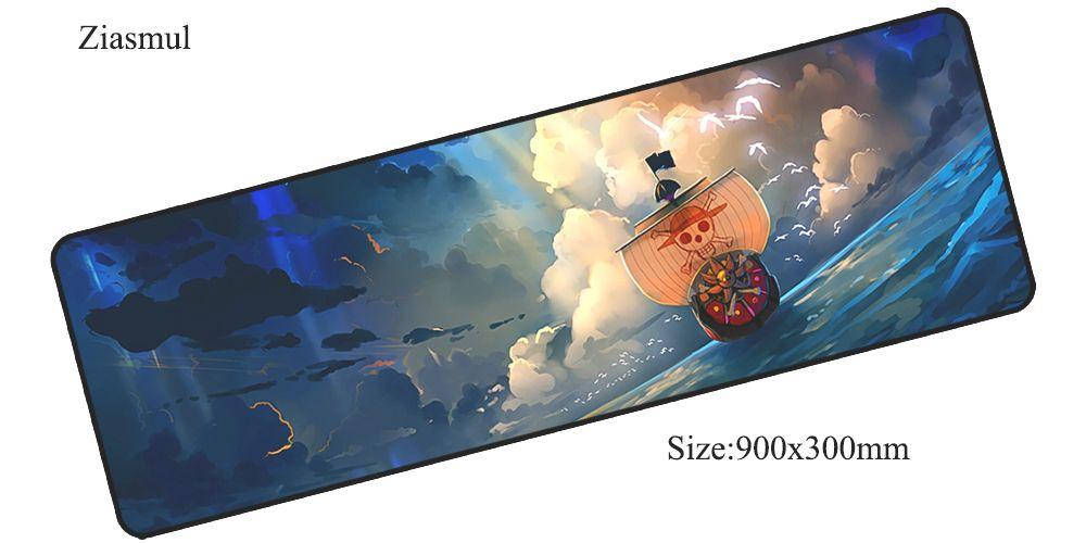 Ziasmul One Piece tapis de souris 900x300x3mm pad pour la souris notbook tapis de souris Esthétisme gaming padmouse gamer clavier souris tapis