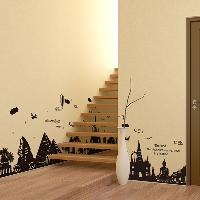 Kids Bedroom Egypt aliexpress : buy [shijuehezi] egypt thailand architecture