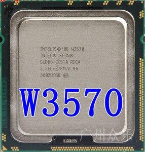 Intel Xeon W3570 w3570 CPU processor 3.2GHz LGA1366 8MB L3 Cache/Quad-Core/ server CPU Free Shipping