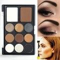 Marrones cálidos tonos bronce nude smoky eyeshadow bronceador highlighter paleta de maquiagem maquillaje de la marca de maquillaje paleta de sombra de ojos