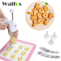 Baking Pastry Tools Cookie Mold Press Gun 12 Flower Mold 6 Pastry Tips Biscuit Cookie Cutter