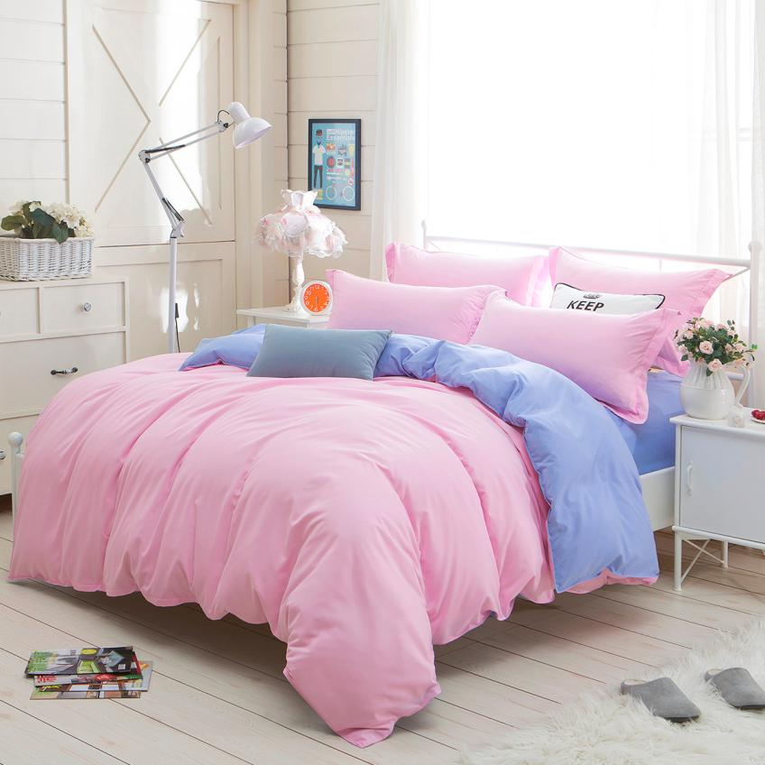 1500 Series Sheet Bedding Set Solid Multiple Colors Single Twin Full Queen Double King Pink Janu 10