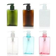 280 ml Zeepdispenser Badkamer Handdesinfecterend Fles Opslag Reizen Shampoo Body Wash en Lotion Organiseren Fles Lege Fles