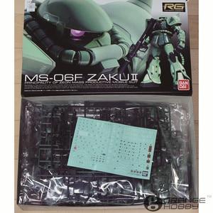 Image 5 - OHS Bandai RG 04 1/144 MS 06F Zaku II Mobile Suit Model Assemblage Kits oh