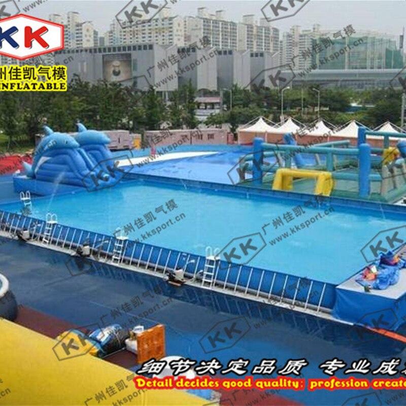 PVC Bracket Pool Paradise Customization Of Large And Small Pools