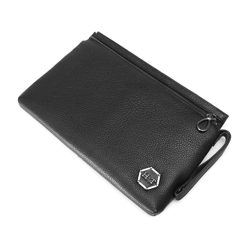 HT Genuine Cow Leather Day Clutches Men Carry Bags Male Long Purses Black  Handbag Envelope Bag Mens Bags Fashion Vintage Style on Aliexpress.com  813f94b811a6