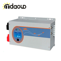 1500W Peaking 4500W inverter 12/24/48VDC TO 220VAC with charge 35A/20A/15A Single Phase pure sine wave