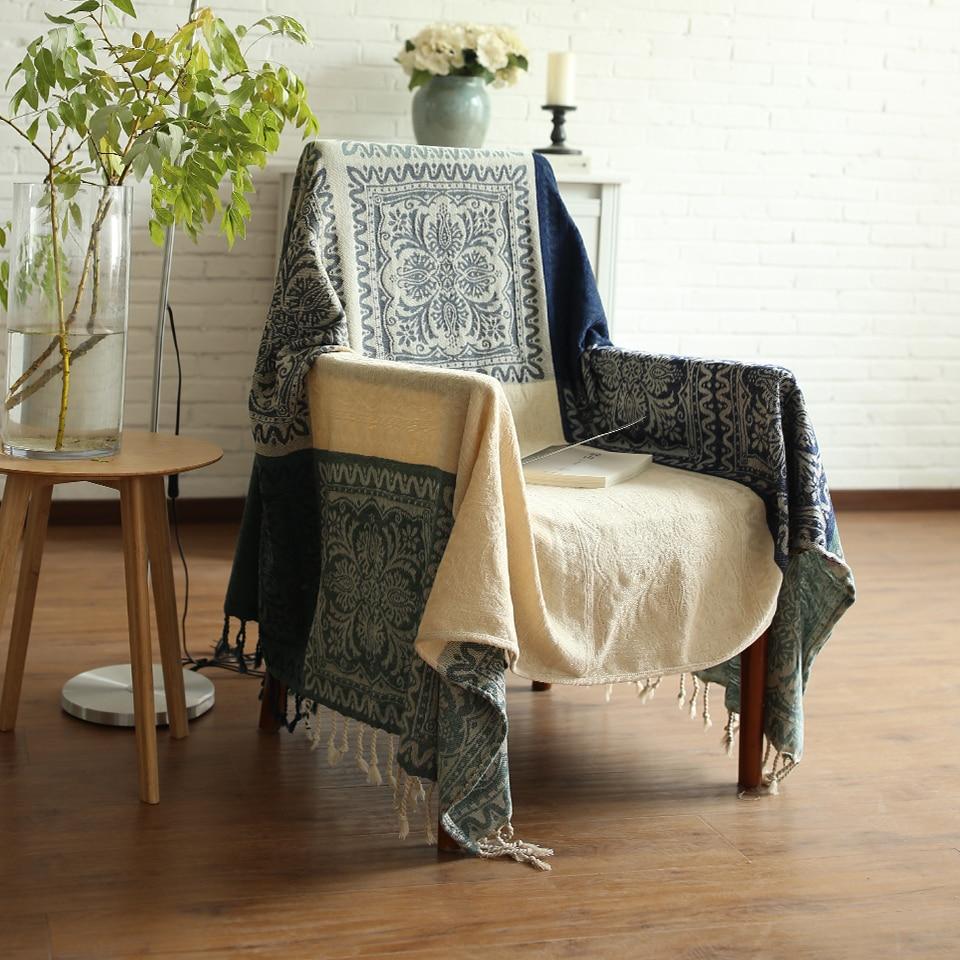 Canapé serviette tissu chenille canapé serviette antidérapant canapé serviette mode canapé serviette couverture tissu complet