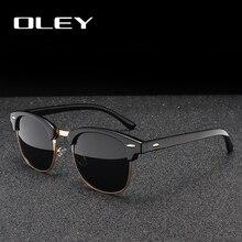 OLEY Brand Women Retro Polarized Sunglasses Fashion Classic