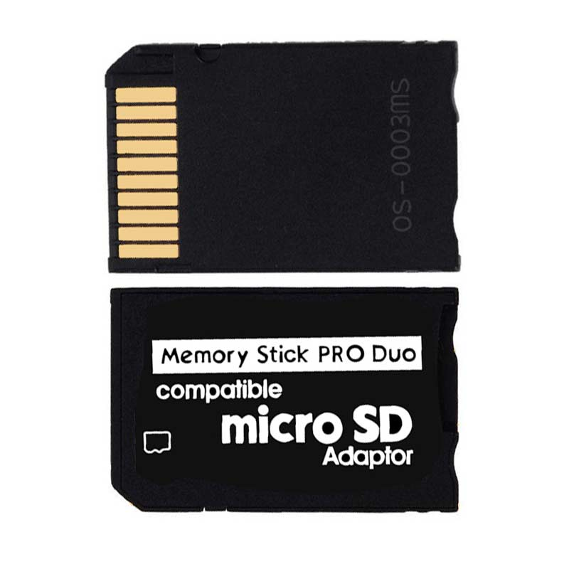 Ingelon Memory Stick Duo Card Reader Micro SD Adapter Cardreader for Sony PSP MS Micro sd to Memory Stick Pro Duo Adapter