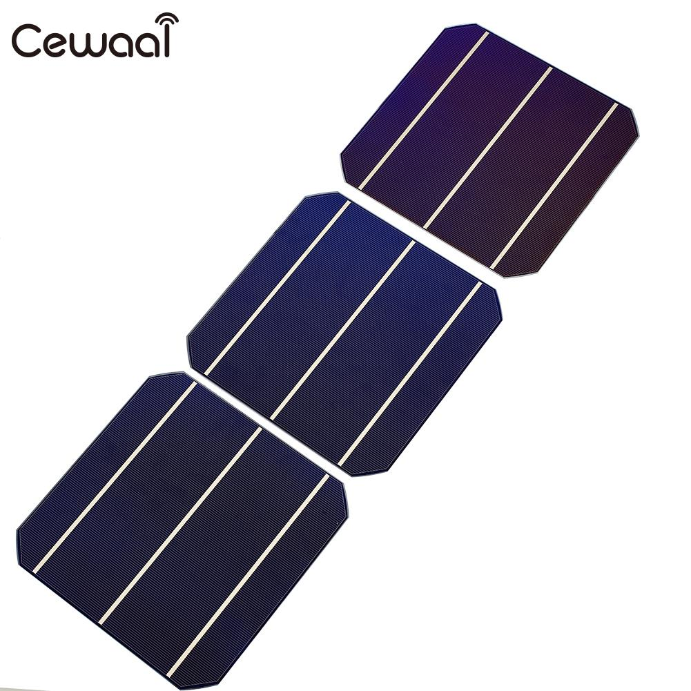 Monocrystalline Solar Panel Cell Premium 4.7W DIY Solar Cells Battery Charger Mono DIY Solar Panel diy 5v 2a voltage regulator junction box solar panel charger special kit