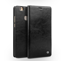 QIALINO Luxury Genuine Leather Case For Huawei Honor Note 8 Fashion Ultrathin Flip Stents Cover Bag