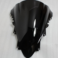 Motorcycle Wind Deflector Black Windshield Windscreen Universal For YAMAHA R1 2007 2008 07 08