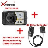 Orijinal Xhorse V4.7.8 VVDI2 VVDI2 OBDII tarafından 48 Transponder Kopyalama Fonksiyonu Ile Tam Yetki ve 48 Çip Veri Toplayıcı