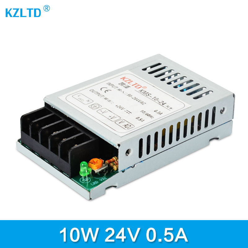 AC-DC 24V Power Supply 10W 220V / 110V to 24V Transformer Switching Power Supply Driver for LED Strip Light LED Display CCTV good group diy kit led display include p8 smd3in1 30pcs led modules 1 pcs rgb led controller 4 pcs led power supply