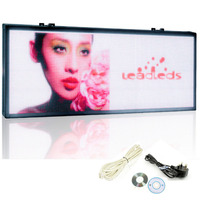 48*25 inch Indoor SMD P6 LED module RGB Full Color video LED Sign / P6 led display Screen for Store Wall Window Display Fixture