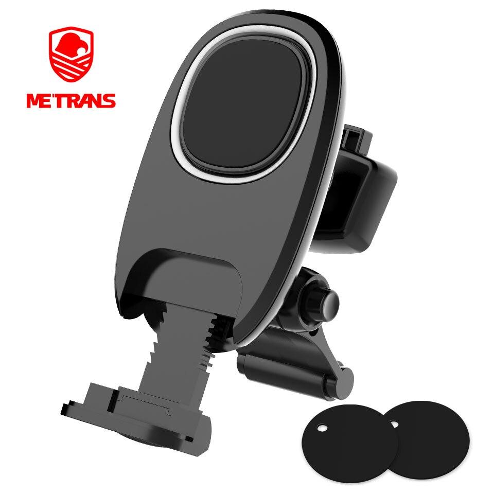 Metrans Magnético Universal Suporte Do Telefone Do Carro Para o iphone 360 Rotação de Saída de Ventilação De Ar Do Carro Montar Titular Suporte Do Telefone telefon tutucu
