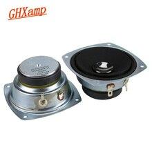 GHXAMP 3 Inch Pure Midrange Luidspreker 8ohm 30W Bluetooth Speaker DIY HIFI Voor Home Audio Auto Speaker Upgrade 2pcs