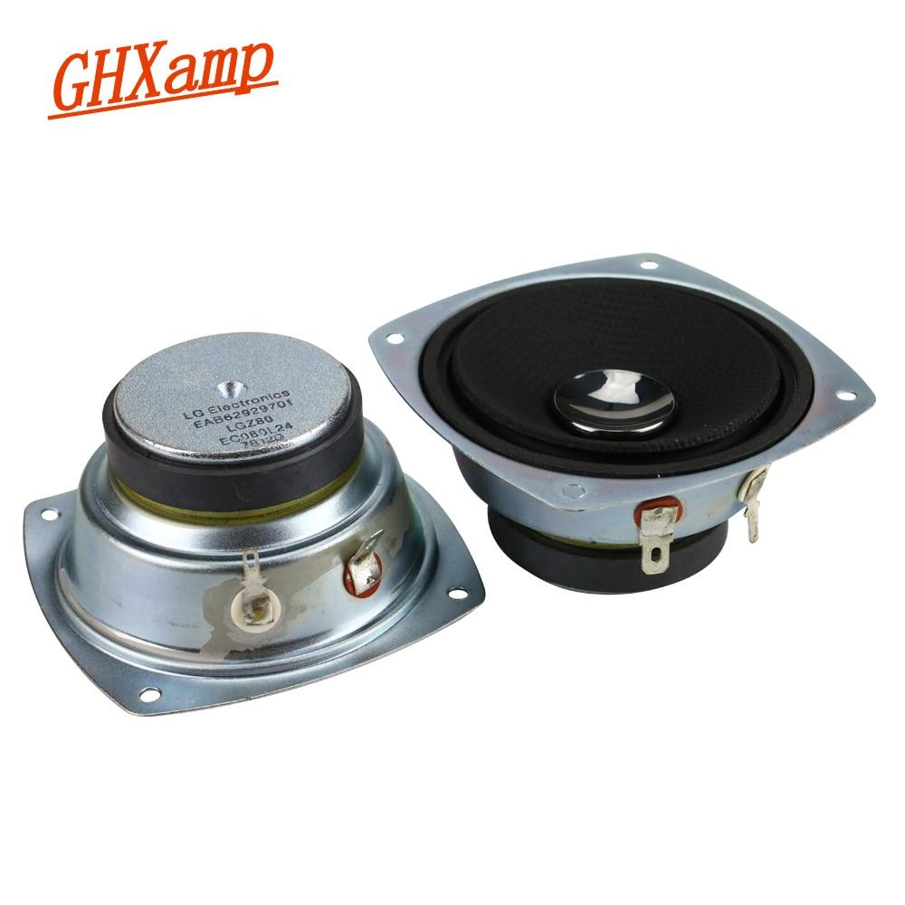 GHXAMP 3 Inch Pure Midrange Speaker Unit 8ohm 30W Bluetooth Speaker DIY HIFI For Home Audio Car Speaker Upgrade 2pcs ghxamp 3 inch 4ohm 30w midrange speaker car speaker mid human voice sound good loudspeaker for lg diy 2pcs