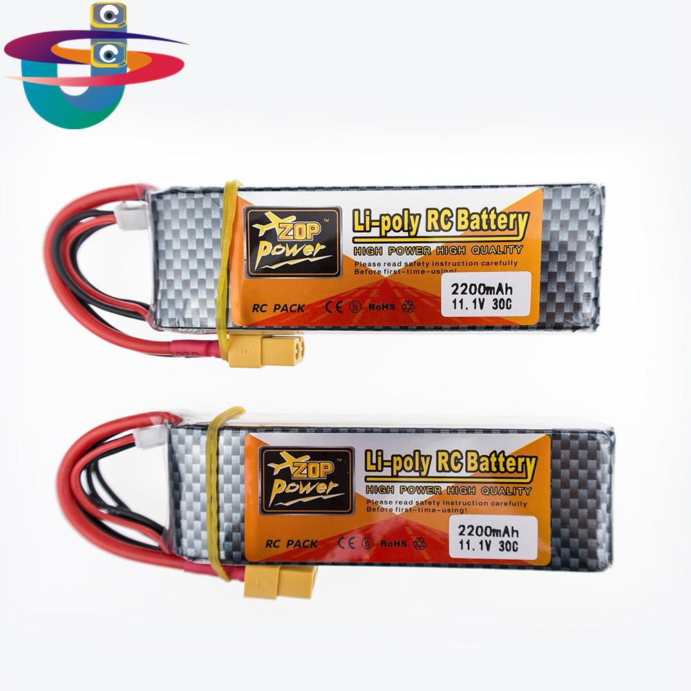 2pcs/lot Lipo Battery 11.1V 2200Mah 3S 30C XT60 T Plug For RC Fpv Qudcopter Helicopter Car Boat Truck Airplane Bateria Lipo gdszhs rechargeable 3s lipo battery 11 1v 2200mah 25c 30c for fpv rc helicopter car boat drone quadcopter page 4
