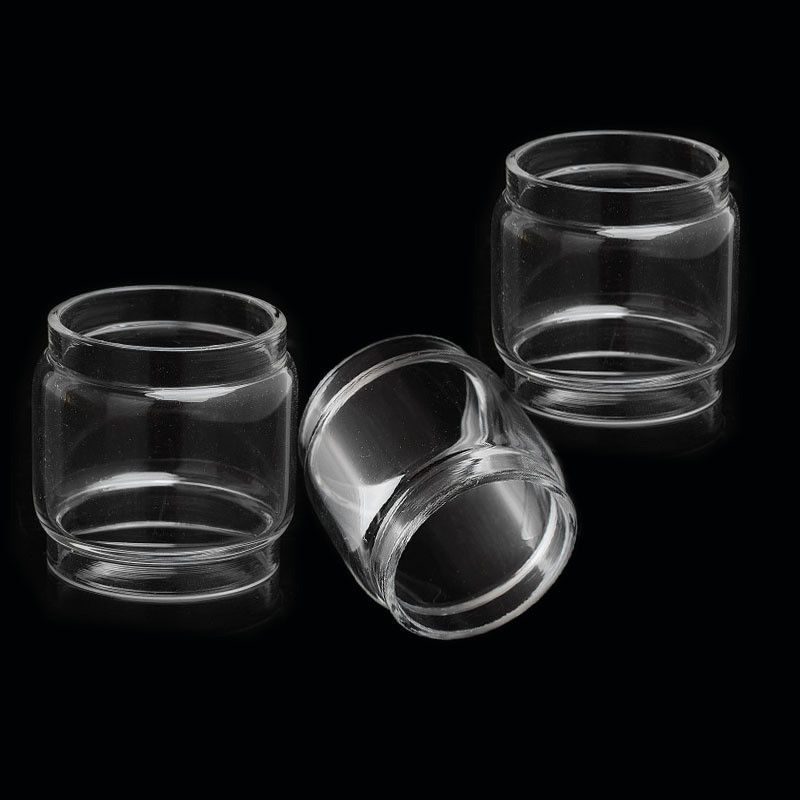 3pcs Bulb Fatboy Replacement Glass Tube For SMOK TFV12 Prince / TFV8 Big Baby / TFV12 Prince Baby /TFV8 Baby / TFV12 Cloud Beast