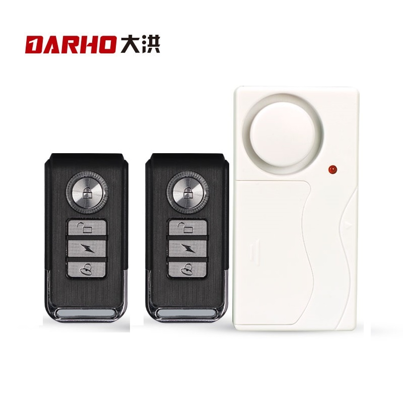 Darho Home Security Door Window Siren Magnetic Sensor Alarm Warning System Wireless Remote Control Door Detector Burglar Alarm