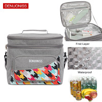 DENUONISS Fashion Thicken Oxford Lunch Bag Cooler Bag For Steak Insulation Thermal Bag Insulation