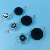 300 יח'\חבילה S/M/L גודל אוזניות אוזניות Eartips אוזן טיפים ניצני רפידות PLantronic Voyager Legend/ UC/PRO bluetooth אוזניות