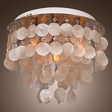 Luminaire Modern LED Crystal Ceiling Light Lamp With 4 Lights For Living Room Bedroom Lustres De Sala Free Shipping