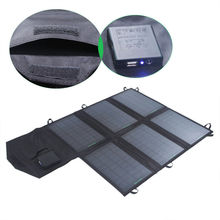 21W Outdoor Solar Power Bank Mono Solar Panel Charger Camping Charger for Mobile Phone solar back pack multi-standing charing