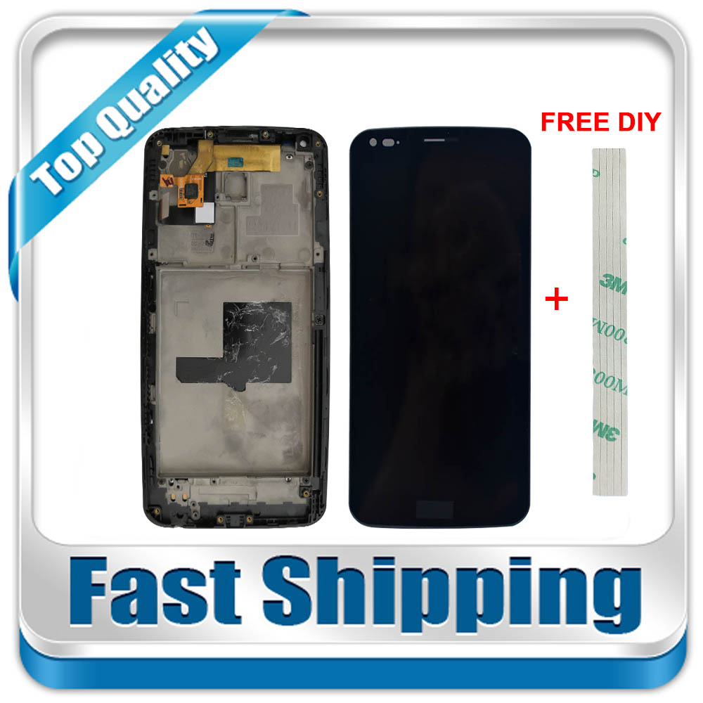 New For LG G Flex D950 D955 D958 D959 F340 LS995 Replacement LCD Display + Touch Screen with Frame Assembly 6-inch BlackNew For LG G Flex D950 D955 D958 D959 F340 LS995 Replacement LCD Display + Touch Screen with Frame Assembly 6-inch Black