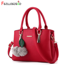 Купить с кэшбэком FGJLLOGJGSO 2018 New Fashion Litchi Grain Shoulder Bags Women Handbag Crossbody Bags Lady Leather Luxury tote female Sac A Main