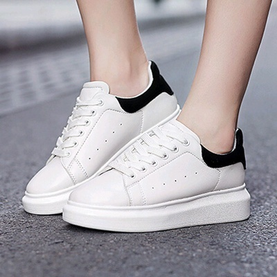 Damens Weiß Sneakers Sapatos Free Casual Schuhes Mixed Farbes Sapatos Sneakers ... 7df78e