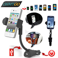 Universal Car Phone Holder USB Charger For Samsung  Iphone Xiaomi Smartphone Non-slip Bracket 360 Rotating Bicycle Mount Base