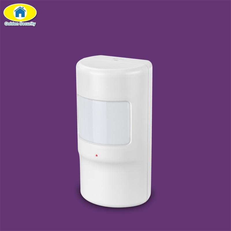 Golden Security Wireless Pet Immune Pir Motion Sensor for G90B Plus WiFi GSM Wireless Home Alarm System Security GS-WMS08 цена