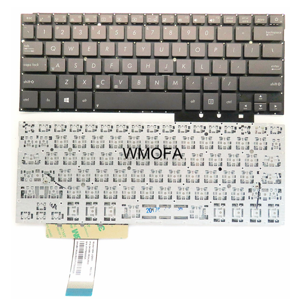 US Black New English laptop keyboard For ASUS UX31 UX31A UX31E