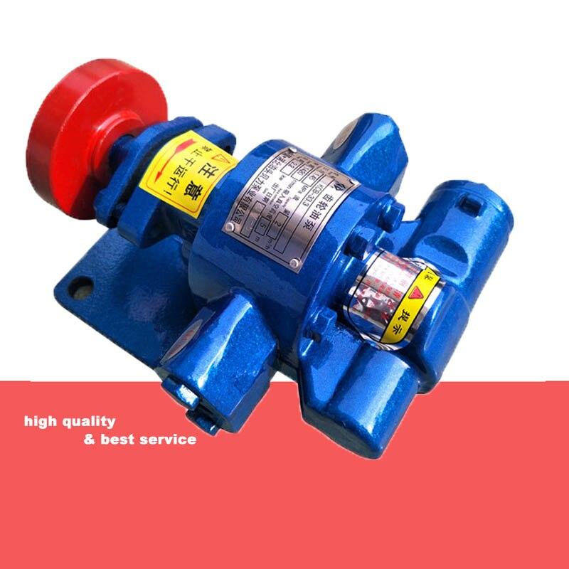 Hydraulic oil pump gear pump kcb33.3 low pressure pump head