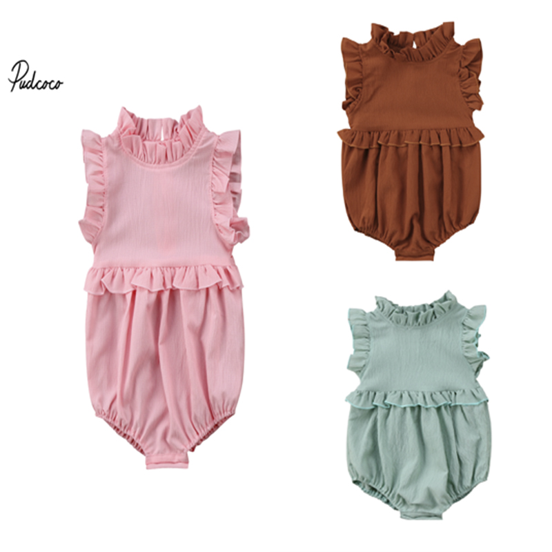 Italian Living in America Awesome Baby Girls Summer Dress Outfits Ruffle Short T-Shirt Romper Dress,One-Piece Jumpsuit
