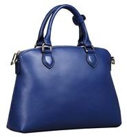 New American Luxury Style Genuine Leather Women Shoulder Tote Bag Brand Designer Cowhide Leather Handbags Skin
