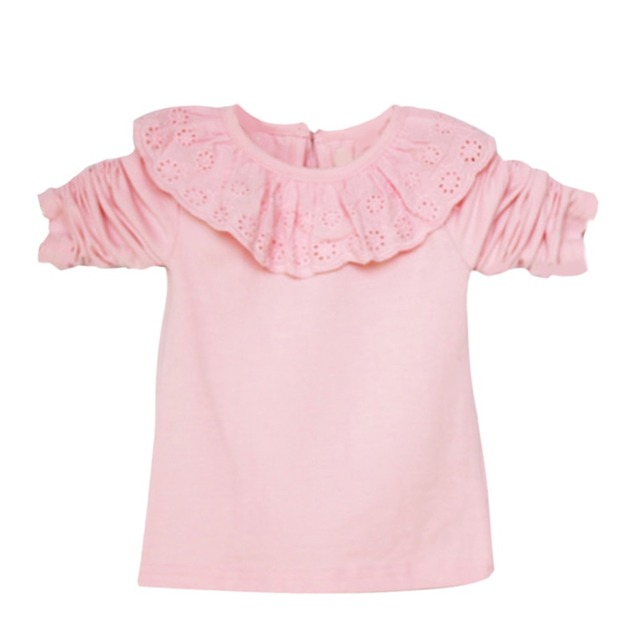 Baby Girl Long Sleeve T-shirt With Neck Lace