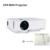 Excelvan gp9 ehd09 mini led proyector 854x480 píxeles ayuda 1080 p 1800 lúmenes de cine en casa hdmi/usb/sd/av/3.5mm gp9 proyector